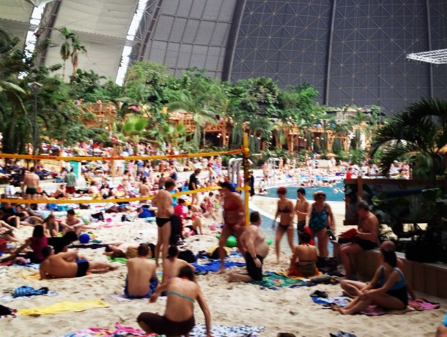 Weird Berlin: Tropical Island Resort