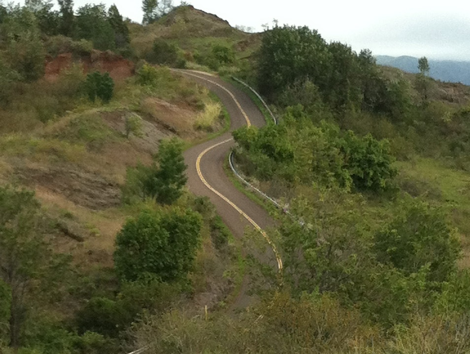 Waimea Canyon Rd - Metaphor for Life
