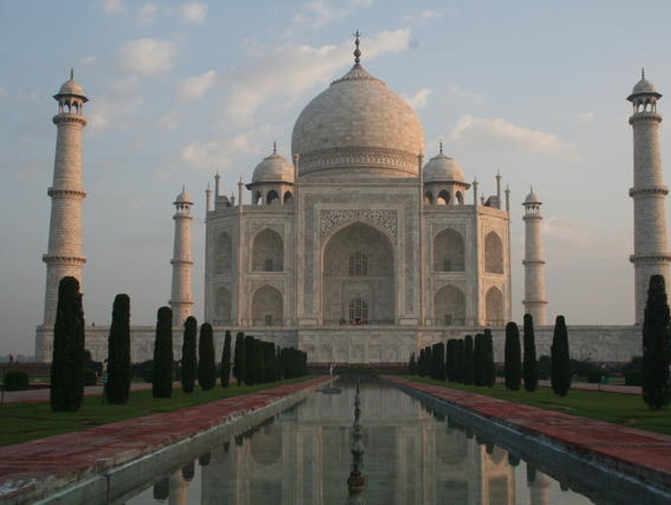 The Advantage of Traveling Fast Agra  India