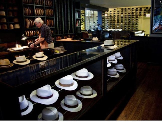 Optimo Hats - The Lost Art of Millinery