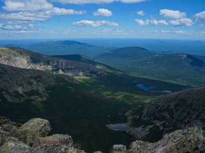 Mt Katahdin Millinocket Maine United States
