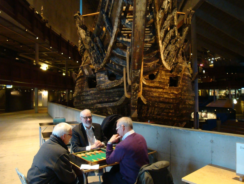 Anthropology at the Vasa Museum