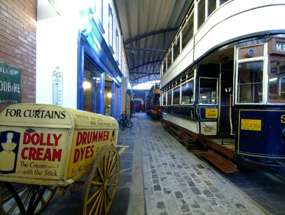 Back in Time at the Ulster Folk and Transport Museum Holywood  United Kingdom