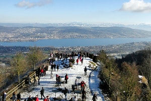 Uetliberg, Top of Zürich, Switzerland