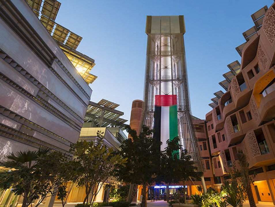Masdar City Abu Dhabi  United Arab Emirates