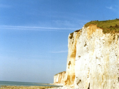 Cliffs of Normandy Champosoult  France