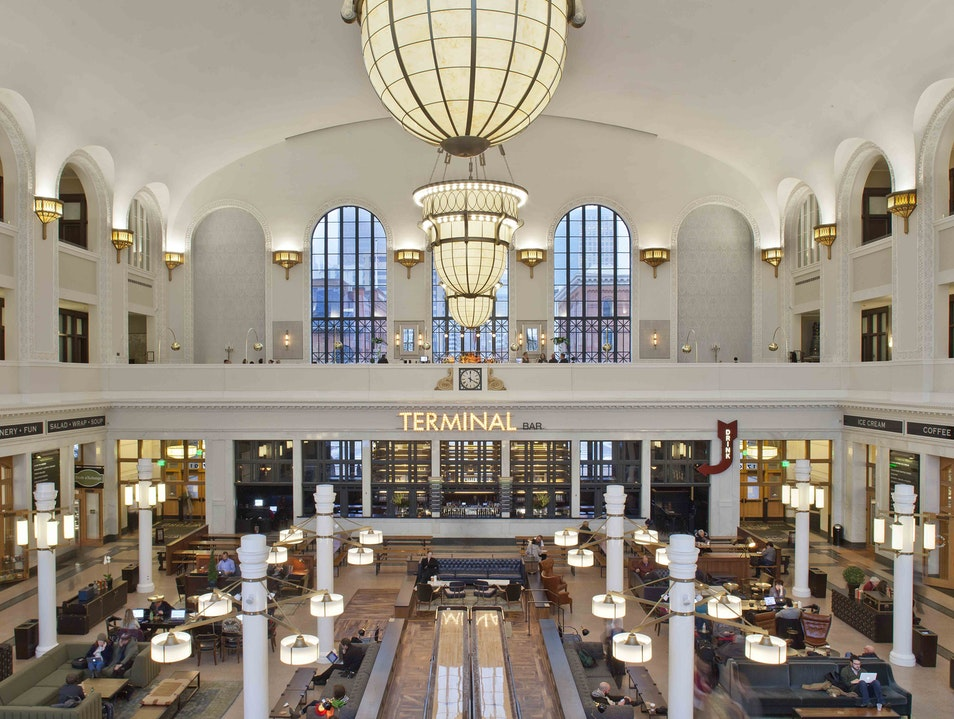 The Crawford Hotel in Denver Evokes the Golden Age of Train Travel Denver Colorado United States