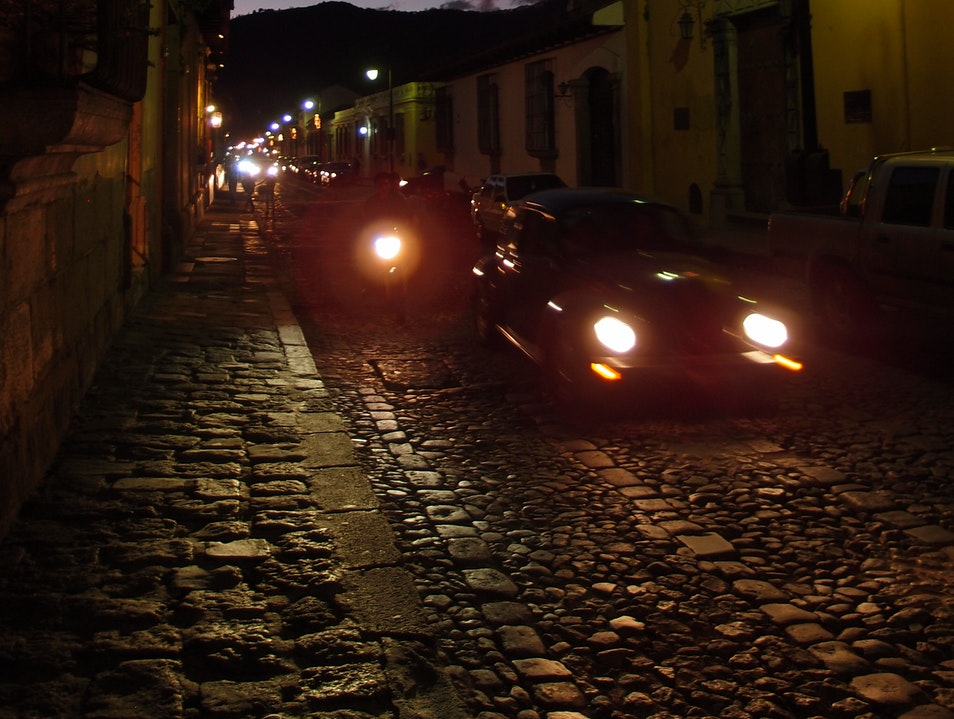The Evening Commute Antigua Guatemala  Guatemala