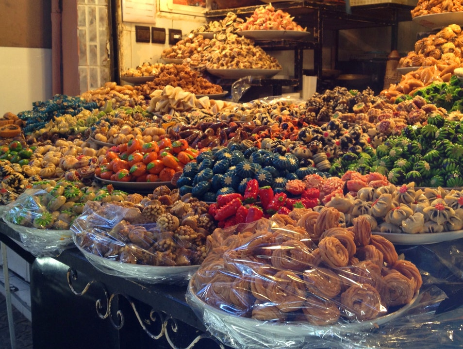 Sweets In The Medina Marrakech  Morocco