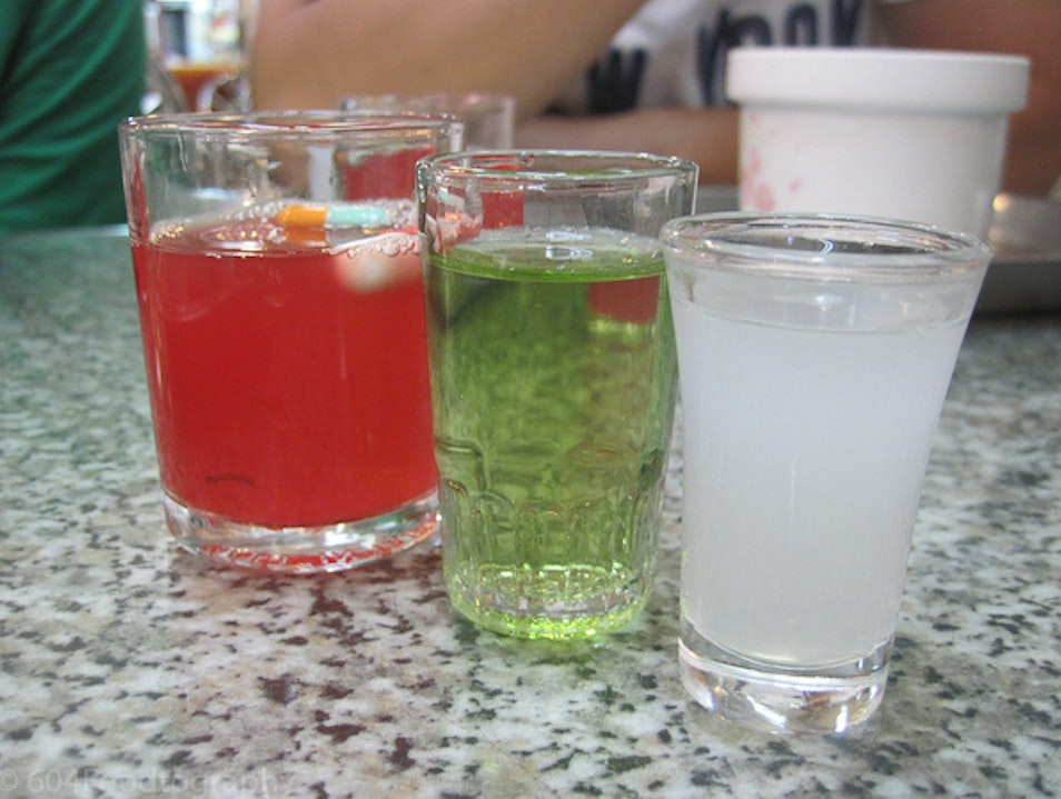 Take a Shot of Snake Blood in Snake Alley Wanhua District  Taiwan