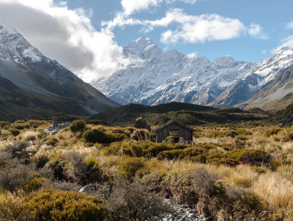 Day hikes into Aoraki/Mount Cook Mount Cook National Park  New Zealand