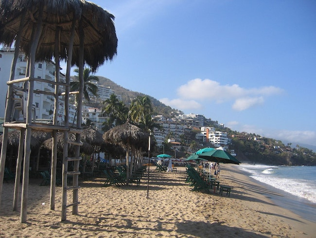 Be a Beach Bum in Puerto Vallarta