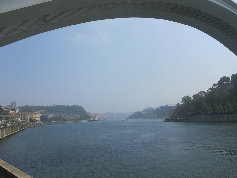 Riding through Porto Porto  Portugal