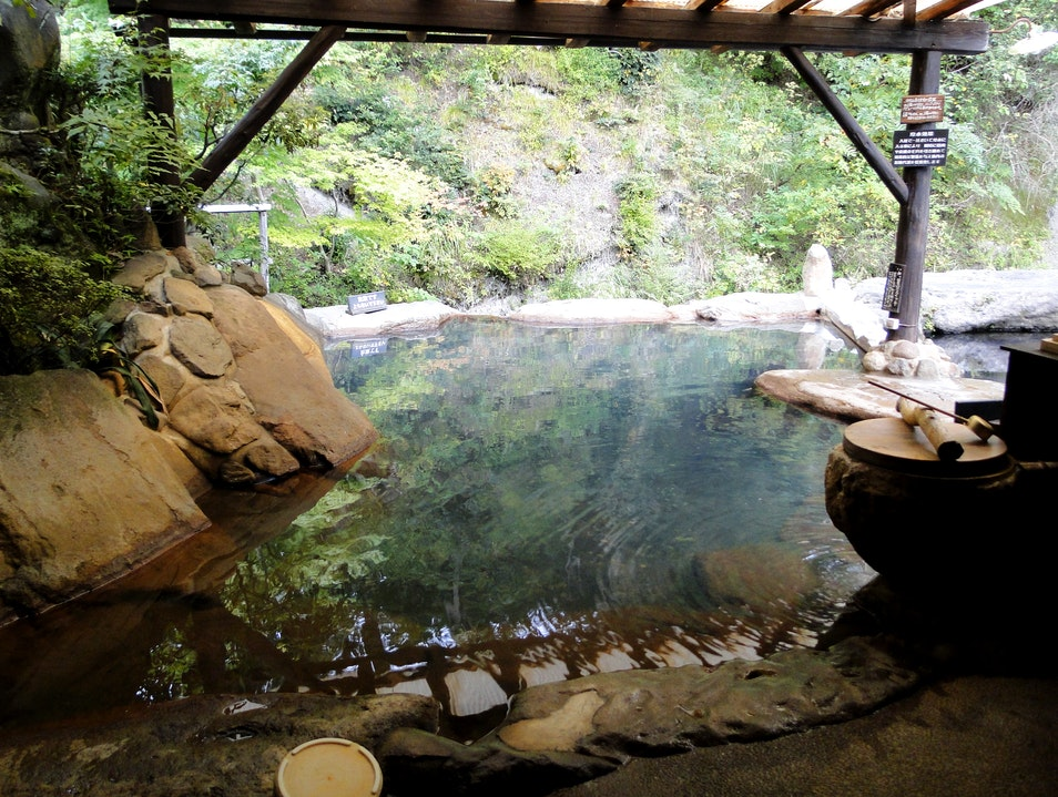 Hidden Hot Springs among the Mountains of Central Kyushu Minamioguni Machi  Japan