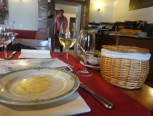 An enchanting Raclette experience