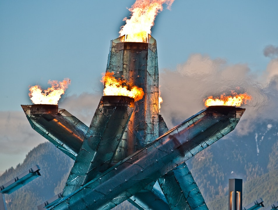 Torched: Vancouver Olympic Cauldron Vancouver  Canada