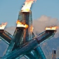 Vancouver Olympic Cauldron Vancouver  Canada