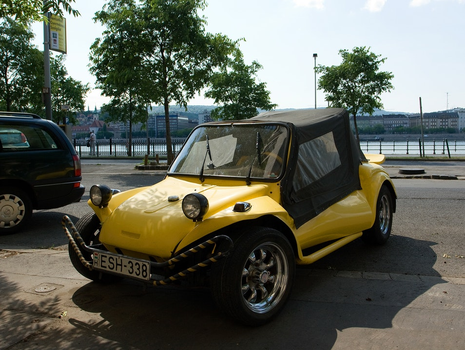 Dune buggy parked outside