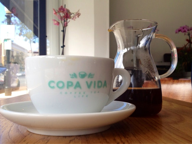 Coffee Cupping at Copa Vida