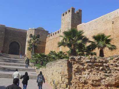 Old City Wall Rabat  Morocco