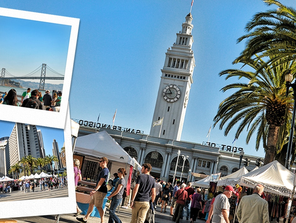 Saturday Market At The Ferry Building
