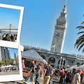 Saturday Market at the Ferry Building Santa Cruz California United States