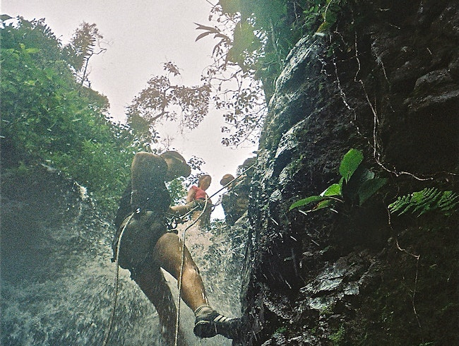 Walk Backwards off a Waterfall