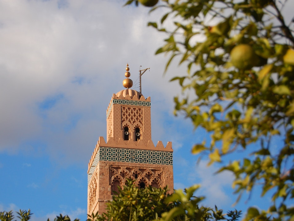 Mosques and medersas of Marrakesh Marrakech  Morocco