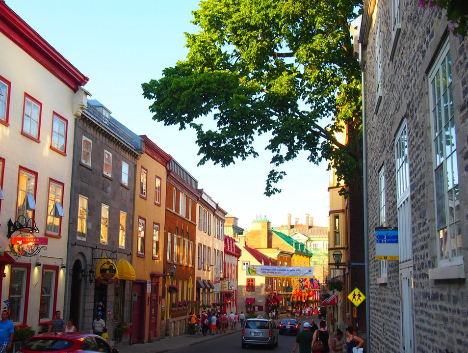 European Experience in North America Quebec City  Canada