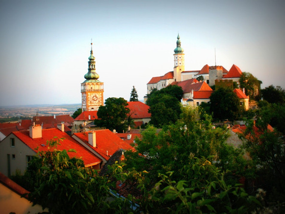 Wining (dining not necessary!) in Mikulov Mikulov  Czech Republic