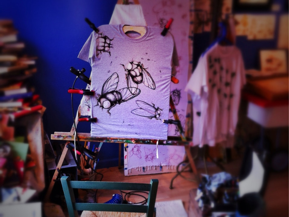 Bugs on a Shirt: Unlikely Art in the Mountains of Arizona Bisbee Arizona United States