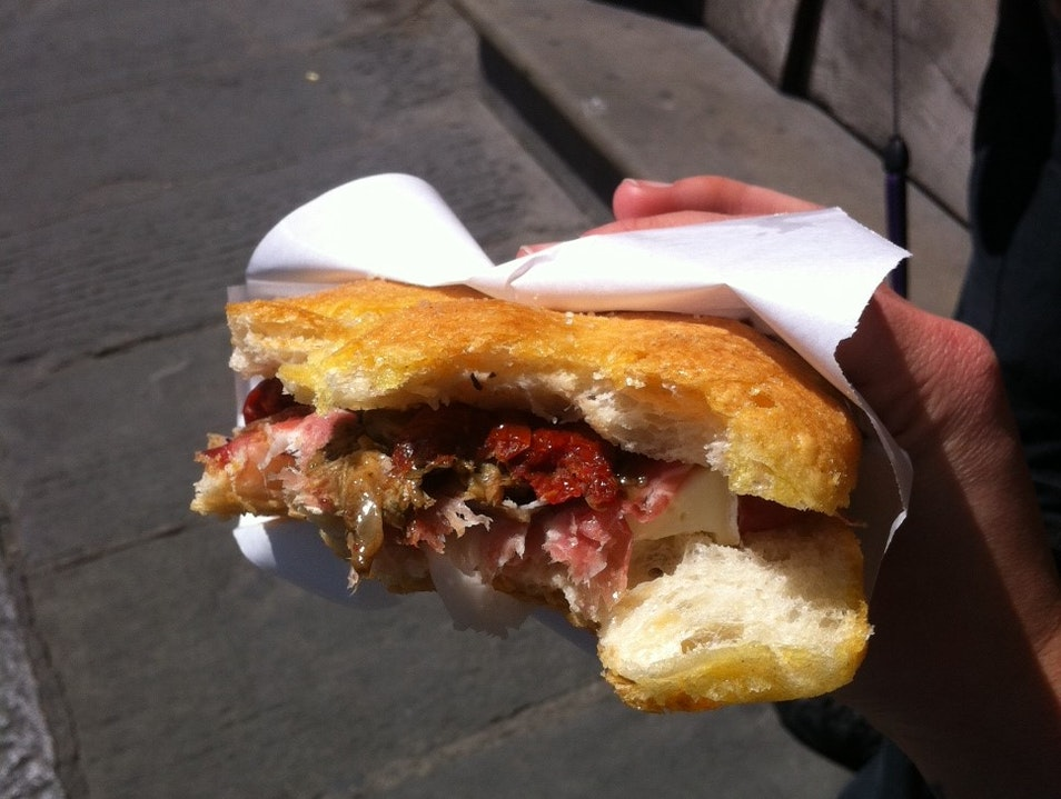 The Hunt for the Perfect Panino Florence  Italy