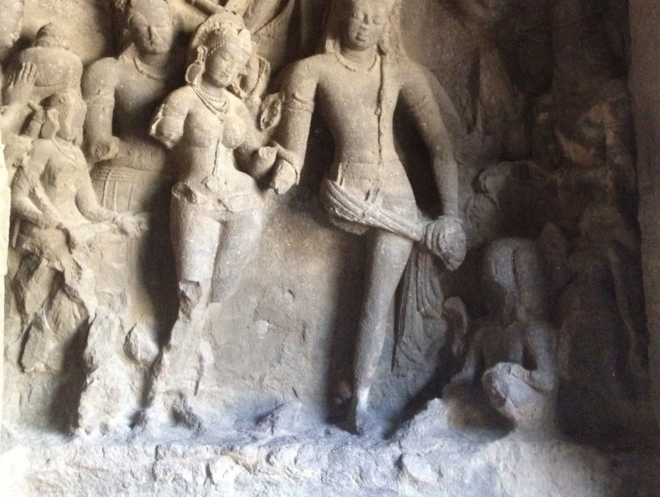 300-Year-Old Hindu Caves and Carvings Mumbai  India