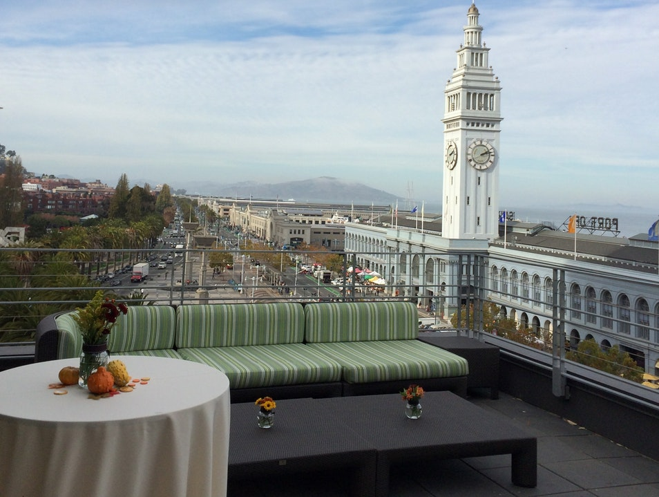 Rooftop Haven on the Embarcadero  San Francisco California United States