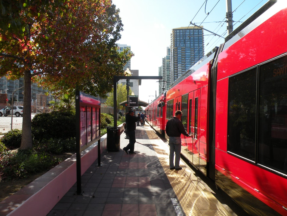 Take the Trolley to Get Around the Sights San Diego California United States