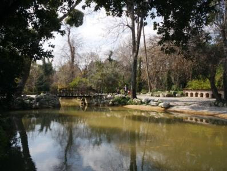 Have a Picnic in the National Gardens Agios Dimitrios  Greece