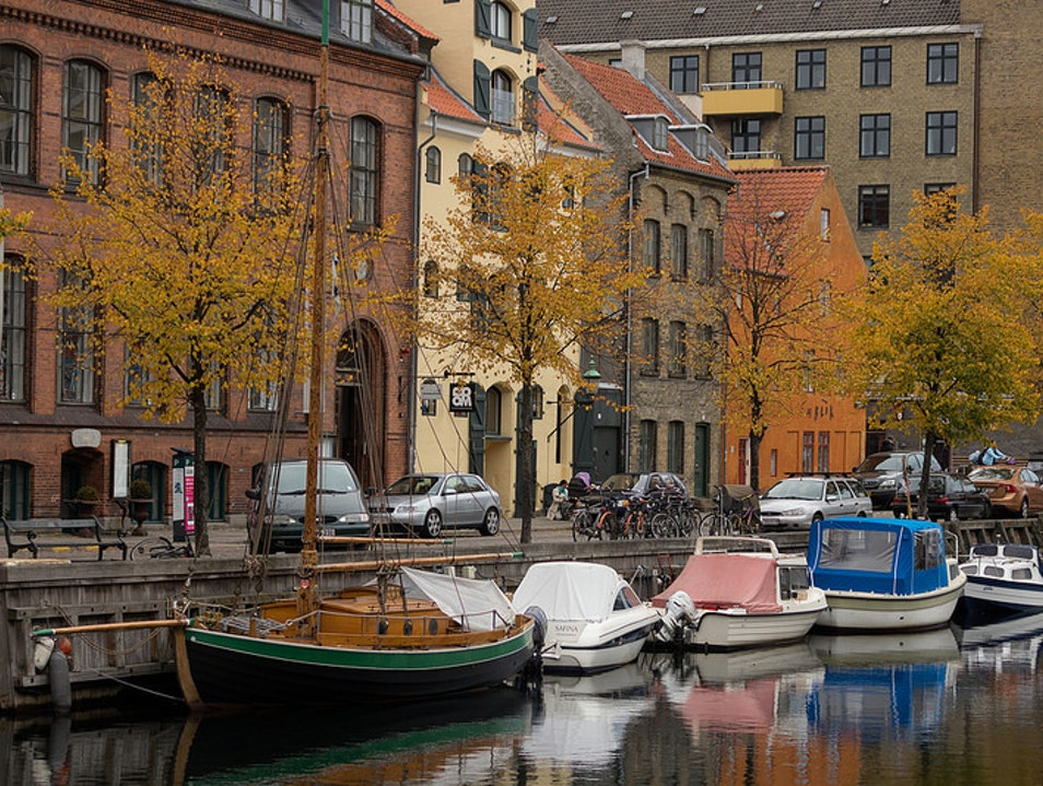 Copenhagen's Most Beautiful Canal Copenhagen  Denmark