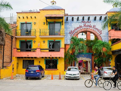 10th Avenue Playa Del Carmen  Mexico