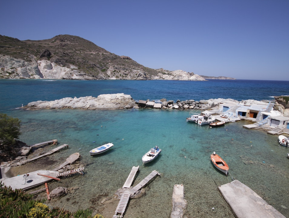 The Wires of Milos, Greece