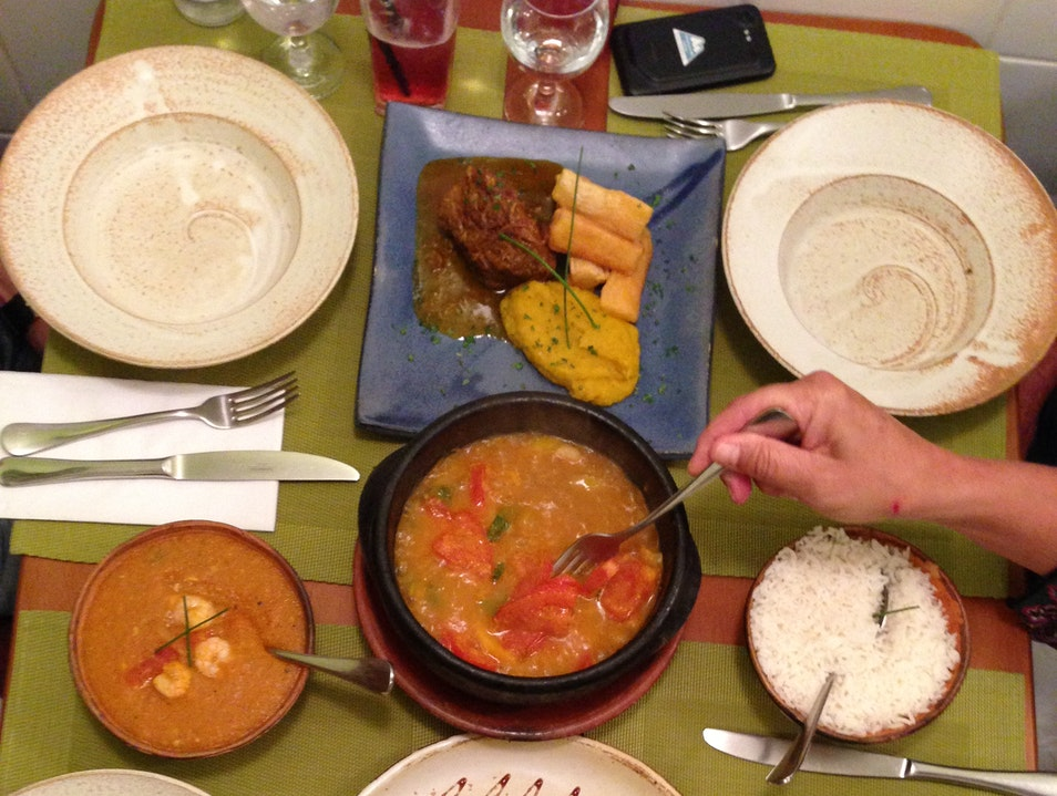 Bubbling Brazilian Food