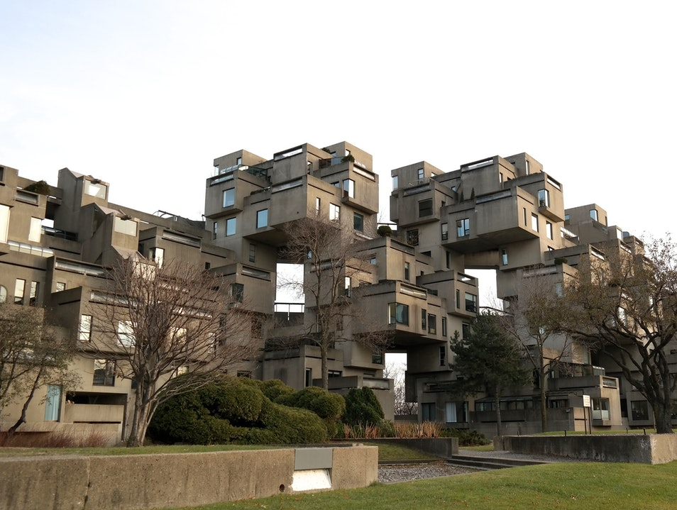 Brutalist Beauty Montreal  Canada