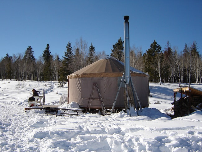 Go Yurt Camping in the Uinta Mountains