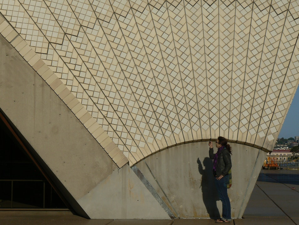 This is Sydney:  Detail of an Opera House