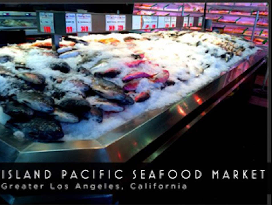 Island Pacific Seafood Market Los Angeles California United States