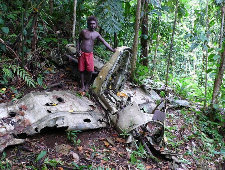 Wreck and relic hunting in the Solomon Islands