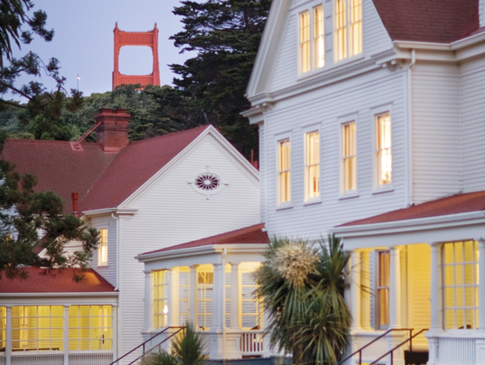 The Fanciest Army Barracks Ever Sausalito California United States