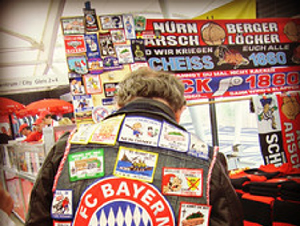 A Hardcore Bayern Fan Munich  Germany