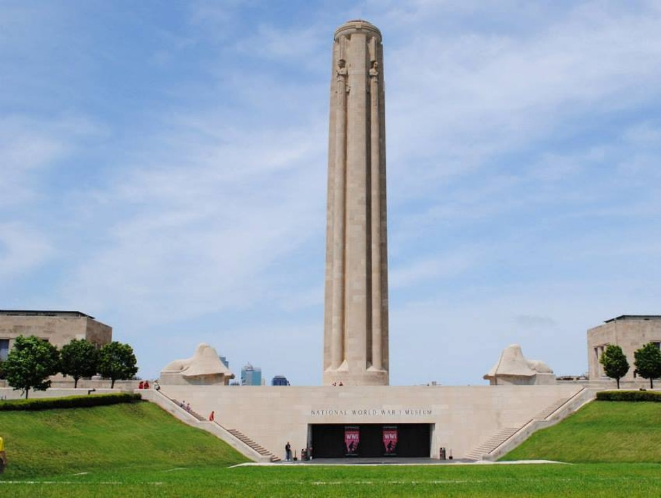 Kansas City's Monument to the Great War Kansas City Missouri United States
