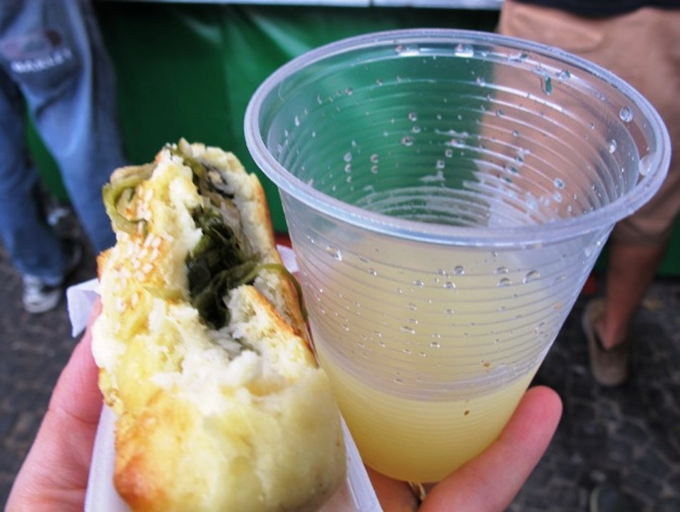 Snack on Street Food at the Handicrafts Market