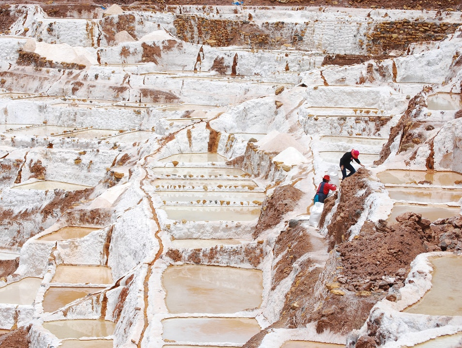 Just Another Day In The Fields Maras  Peru